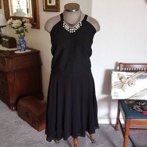 ASHLEY STEWART * BANDAGE TOP COCKTAIL DRESS 30/32